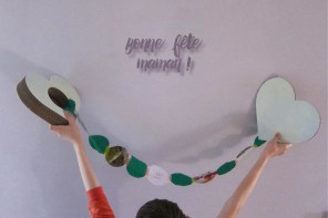 DIY : Bonne fête maman !