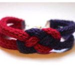 Le bracelet en tricotin de Fairy's Fabric