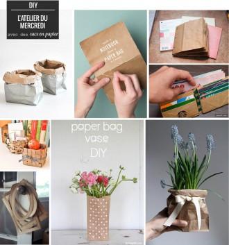 Papier plumetis magazine - Fabriquer un sac en papier magazine ...