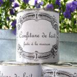 Les étiquettes de confiture de lait de Jolie rue
