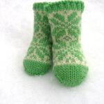 Flakey baby socks de Jujube and lolo