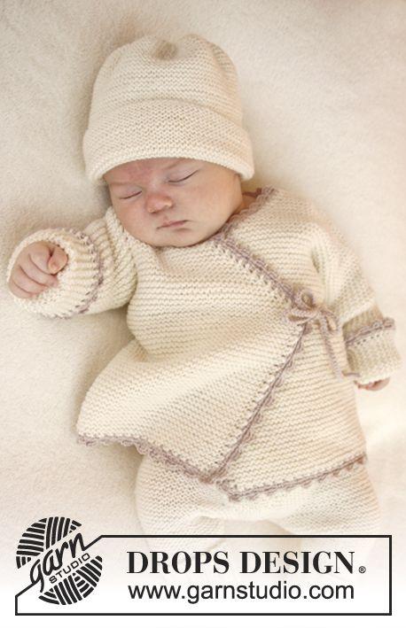 Knitting Pattern Baby Wrap Cardigan : Tricoter pour les prematures