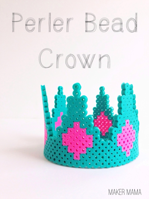 MAKE A PERLER BEAD CROWN