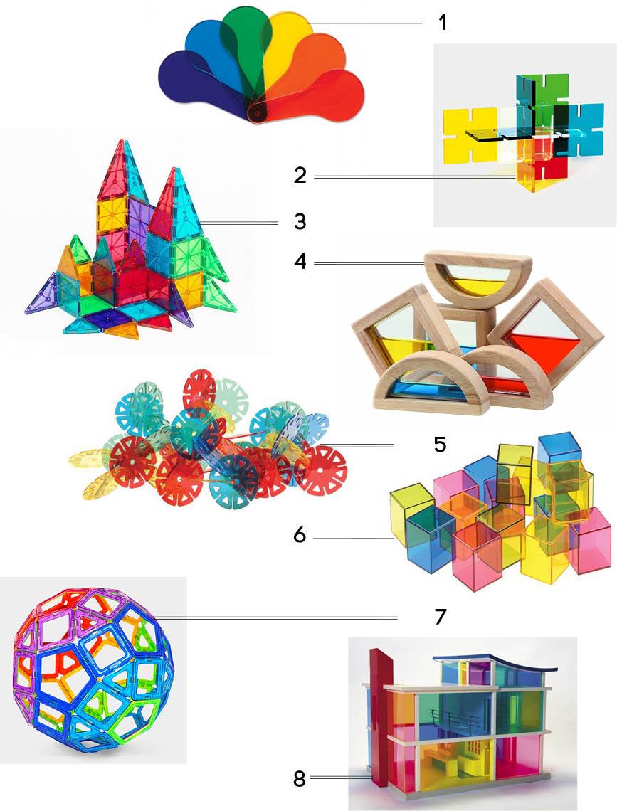 jouets-transparents-colorés