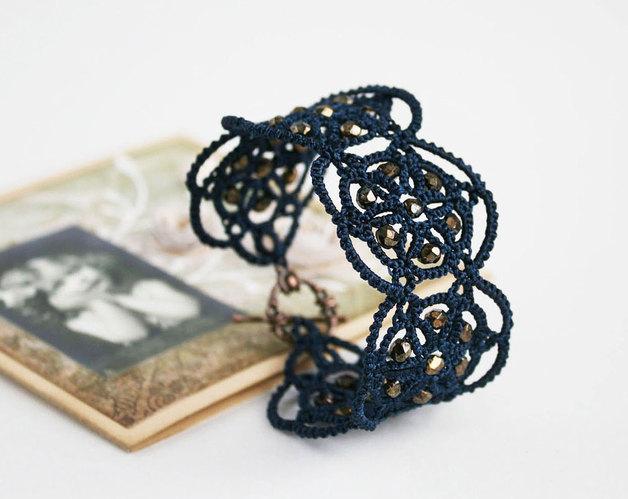 Bracelet en frivolité // LacedMood