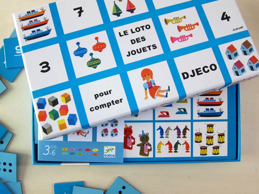 Le loto des jouets - Djeco - Alain Grée