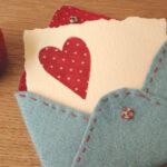 Love letter Valentine-par Lucky Kate Crafts