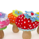 Mushroom pinscushion de Fantastictoys