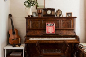 music room // home beautiful