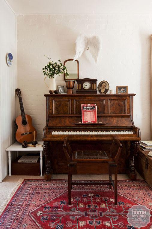 music room // home beautiful