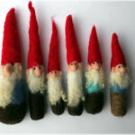 Neddle felted gnomes par LauraLeeBurch