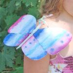 Le papillon de Papier ciseaux cailloux