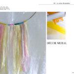 La guirlande en papier de soie