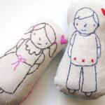 Pocket sized dolls par Goody goody