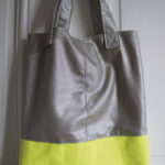 Le sac néon par Ernest est céleste