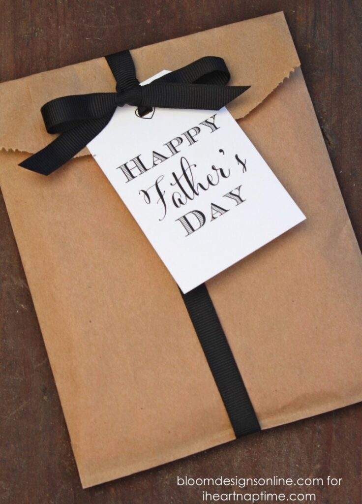 Father's Day Gift Tags // I heart naptime