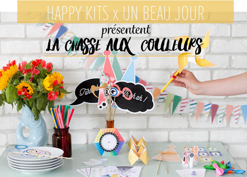 La chasse aux couleurs // happykits x unbeaujour