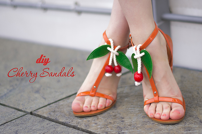 diy cherry sandals // www.fashionrolla.com-14