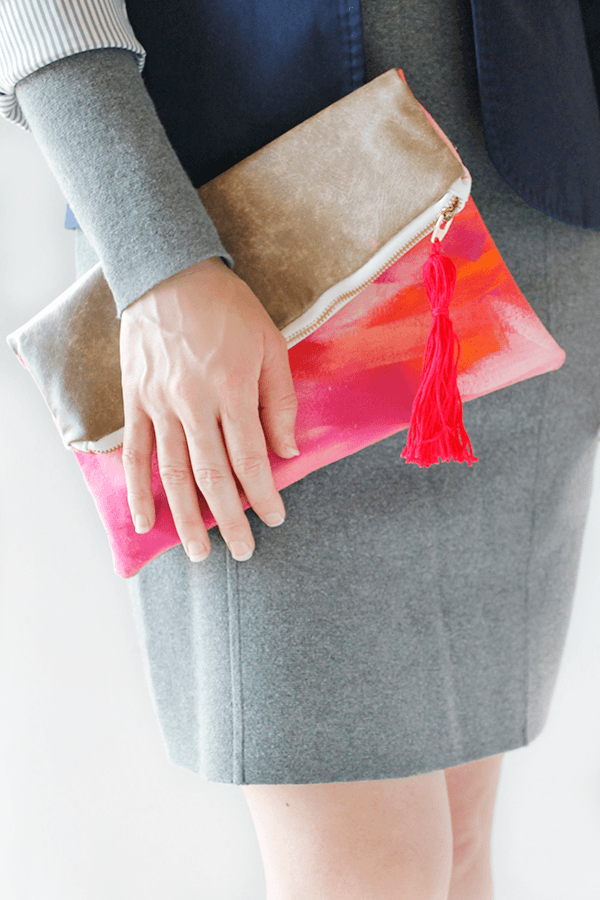 DIY+Folded+Clutch