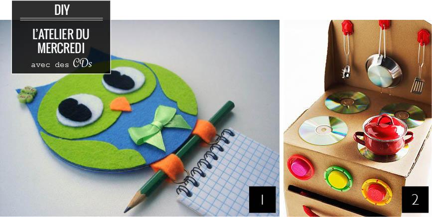 Bricolage Avec Cd 10 idées de recyclage de cd