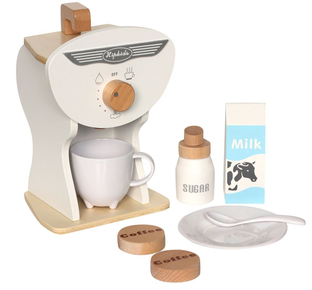 Toy Coffee Machine Set // Hip kids