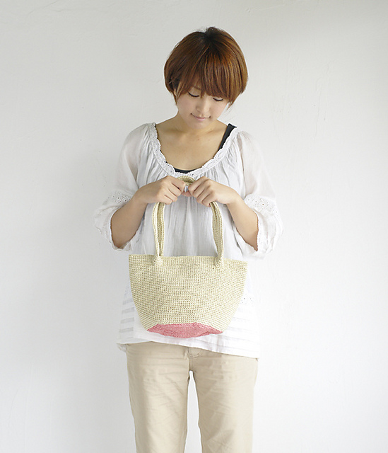 Raffia Bag by Pierrot (Gosyo Co., Ltd)