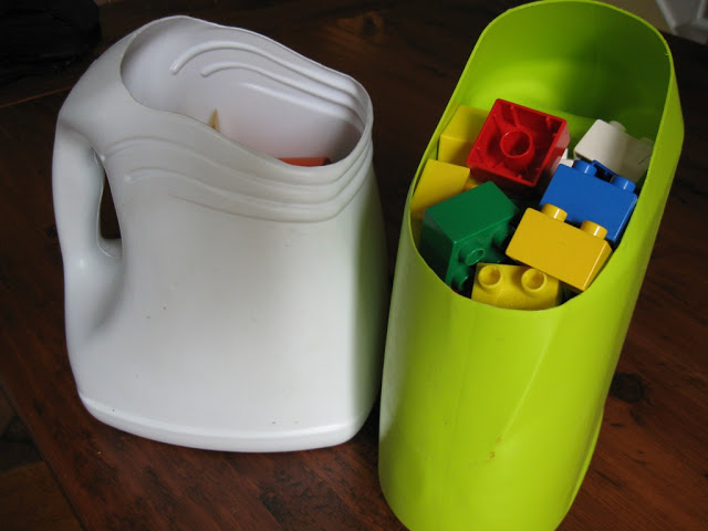 Fabriquer du rangement avec des bouteilles récupérées