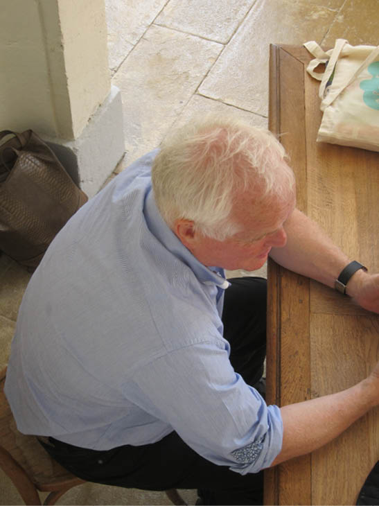 Jean-Claude Volot à l'abbaye d'Auberive