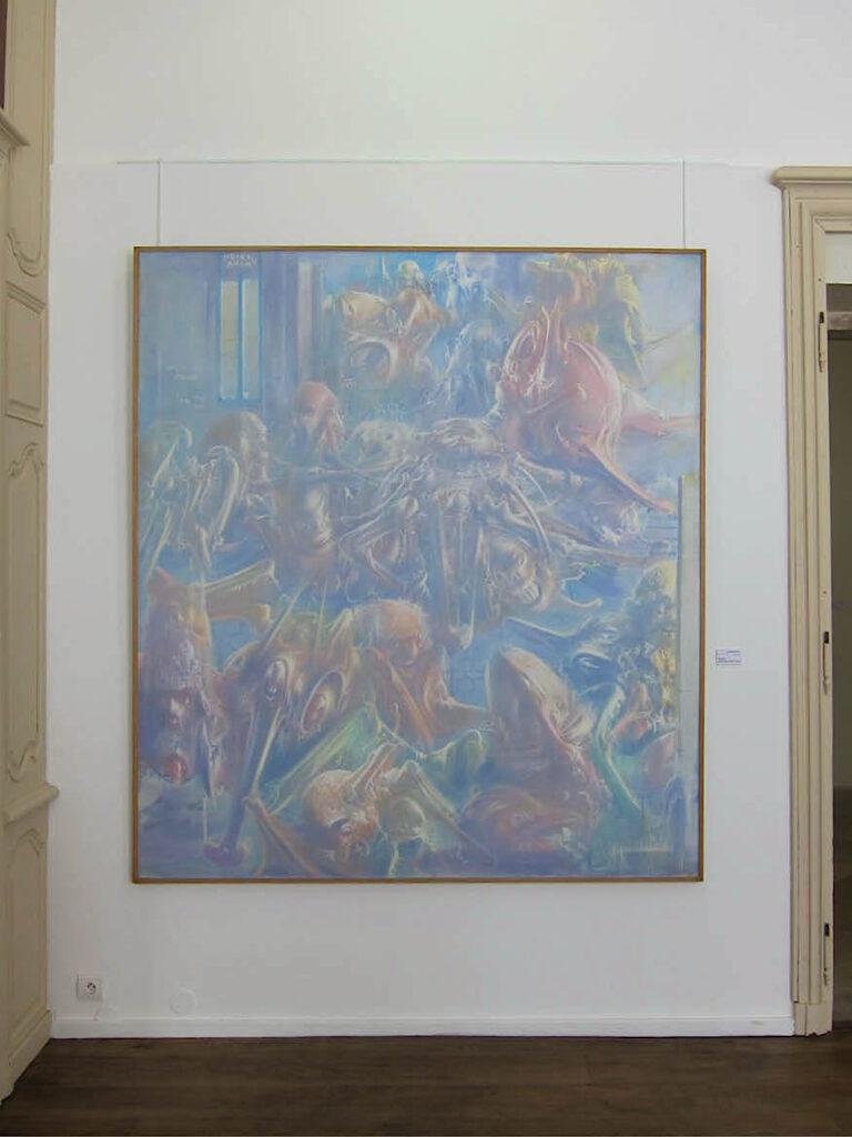 abbaye-auberive-exposition-dado-westhampton-crab