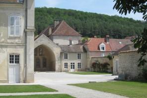 le choeur de l'église originelle du 12e siècle
