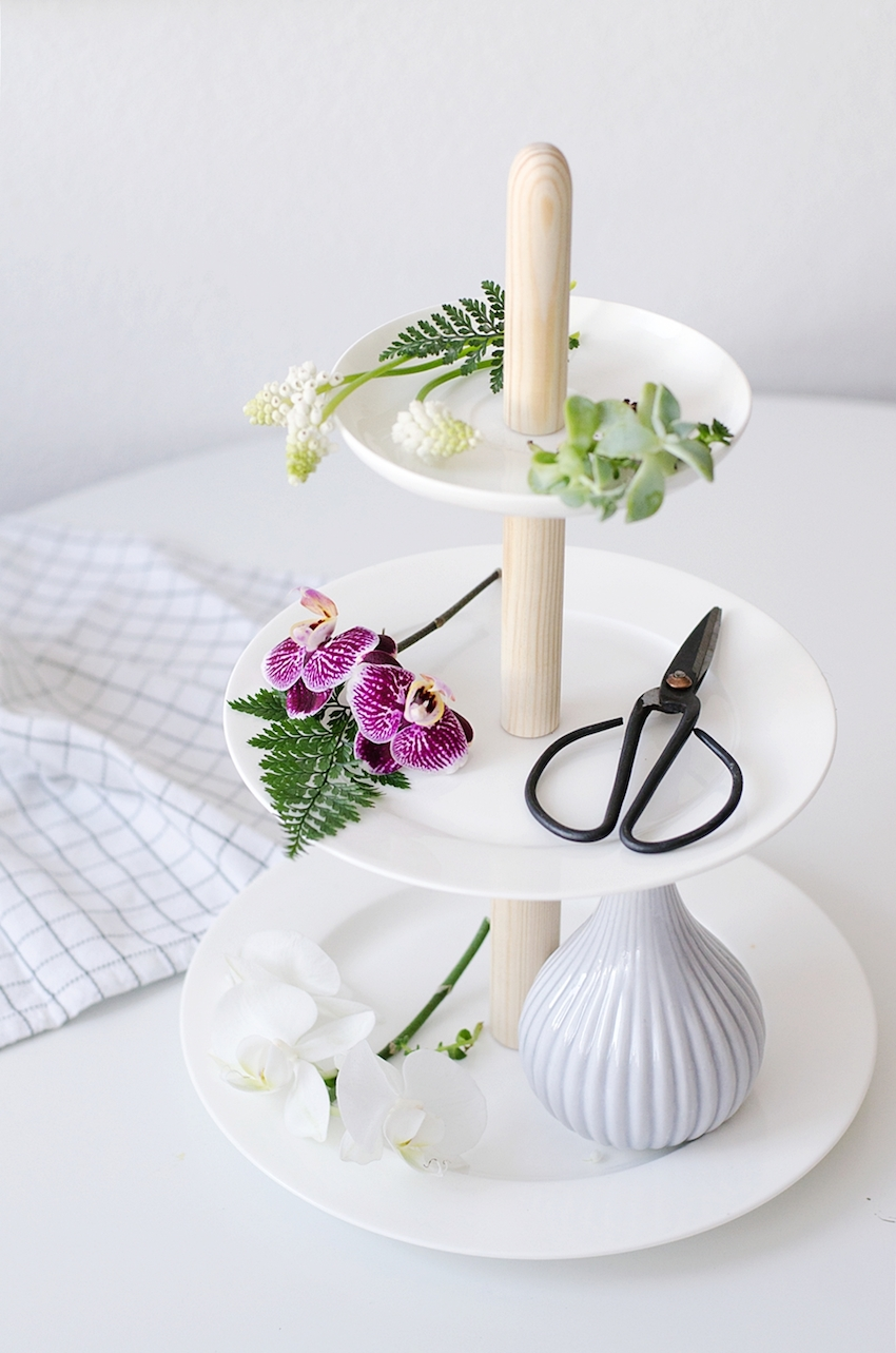 how to etagere