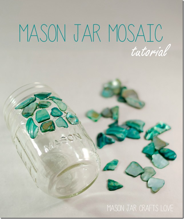 mason-jar-mosaic - masonjarcraftslove.com