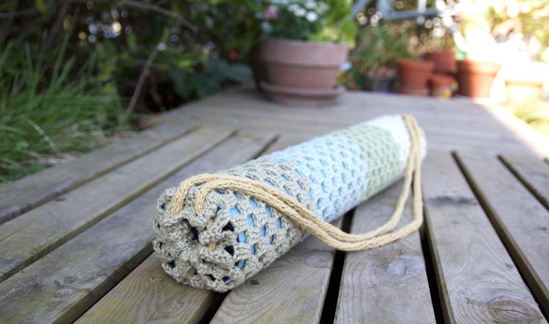 Om shanti yoga mat bag