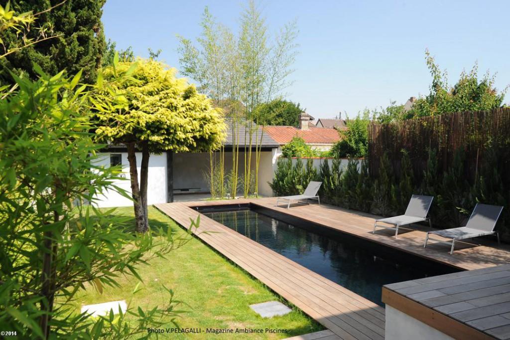piscine bassin nage Caron