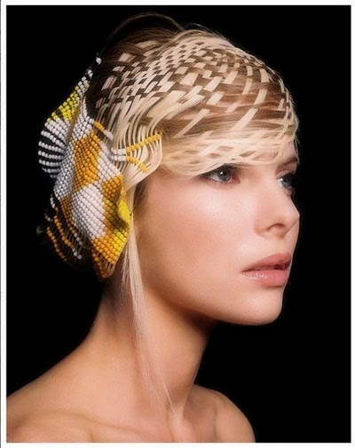 Roberto Perozzi beaded hair design 3
