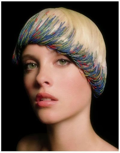 Roberto Perozzi beaded hair design 4