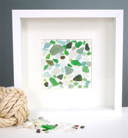 sea_glass_wall_art // Creative in Chicago