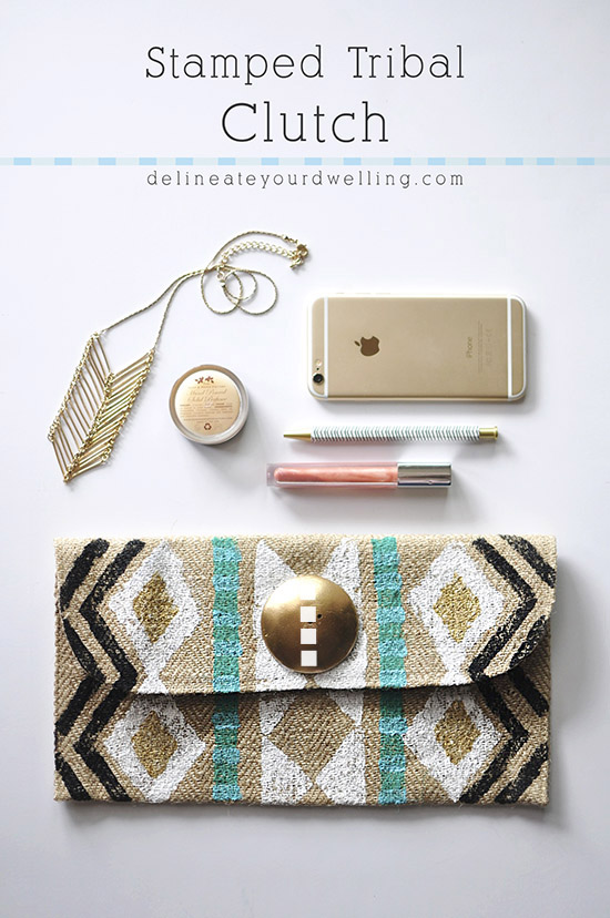 Stamped-Tribal-Clutch