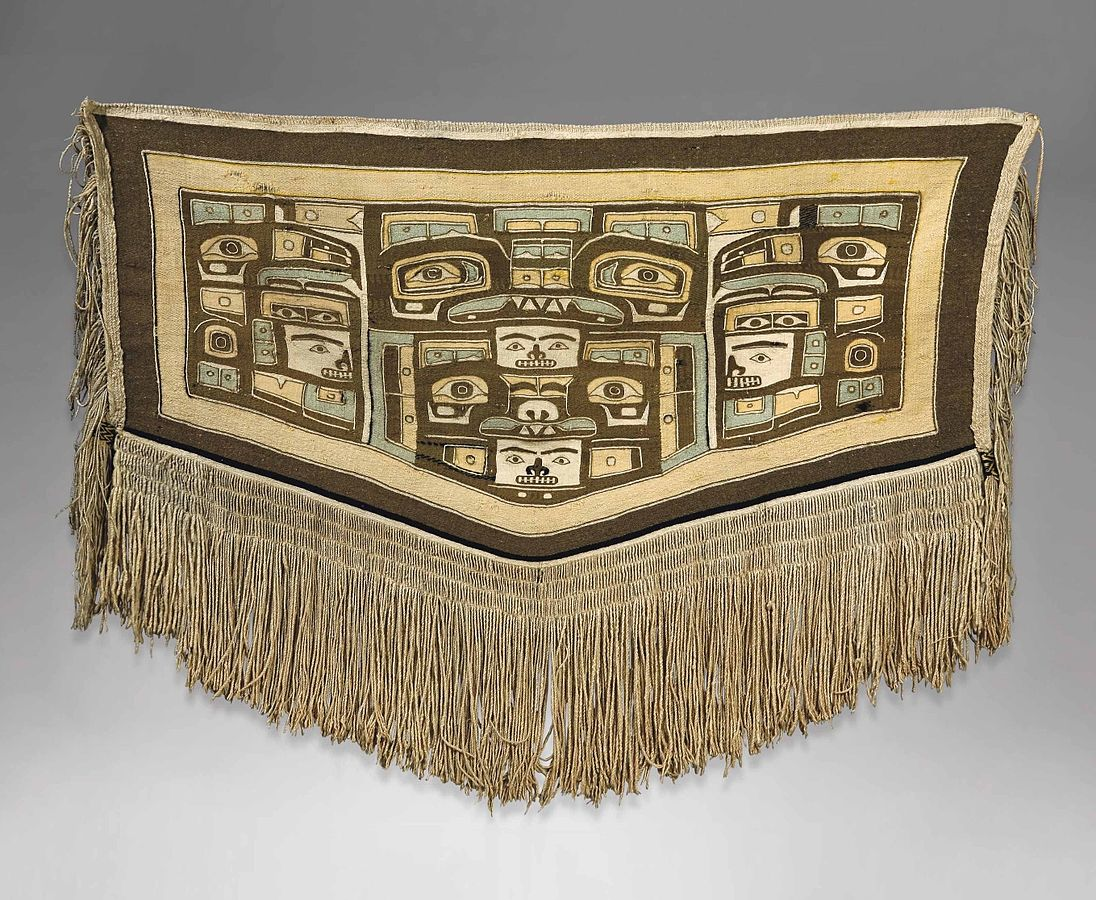 Mary_Ebbets_Hunt_-_Chilkat_blanket
