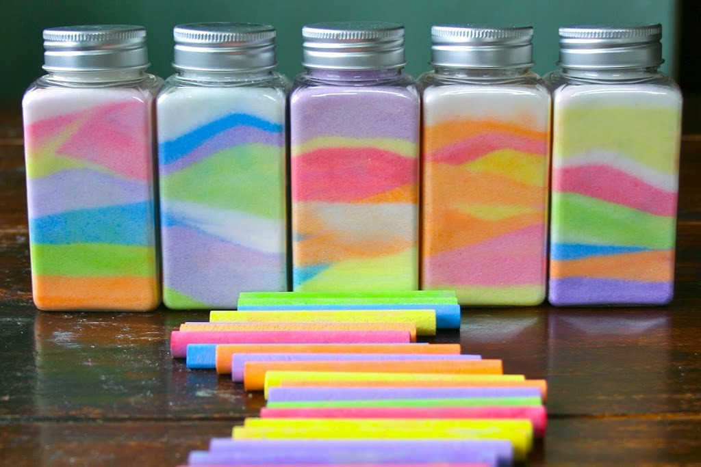 Rainbow in a Jar // Flax & twine