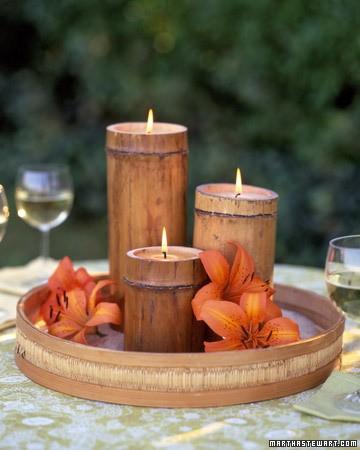 bamboocandle