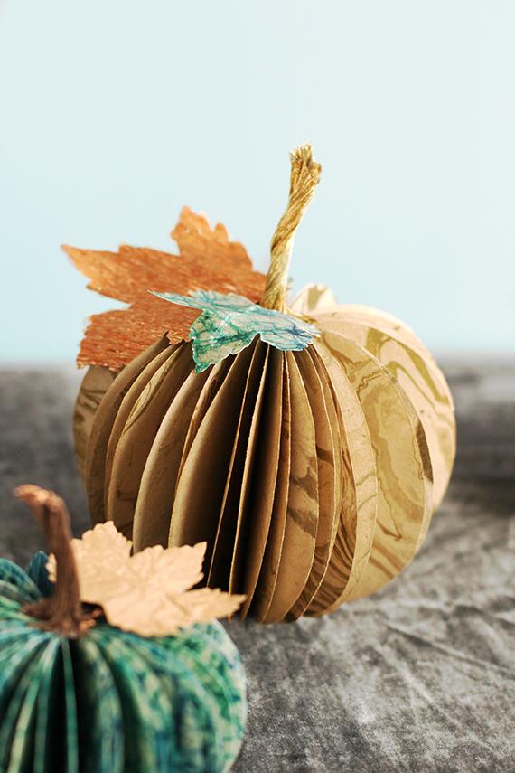 Paper Pumpkins // Julep
