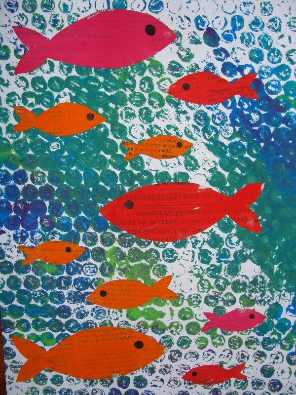 Les petits poissons dans l'eau // Ribambelles