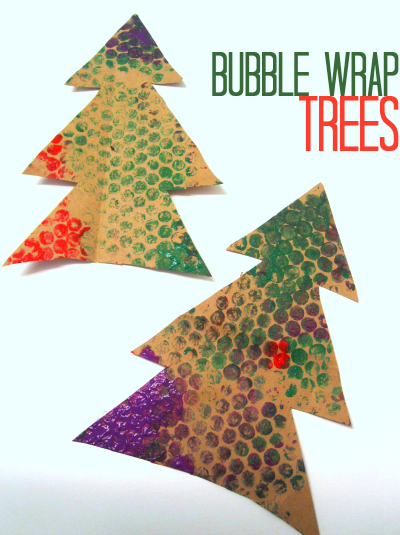 bubble-wrap-Christmas-Trees