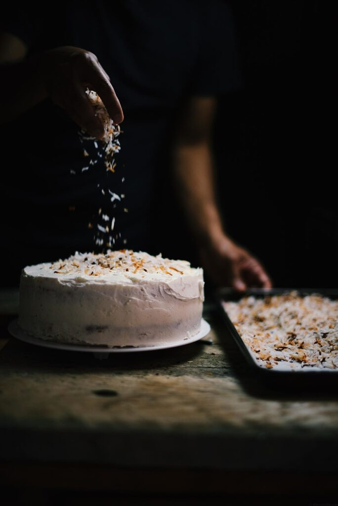 cardamom+and+toasted+coconut+cake+|+A+Brown+Table