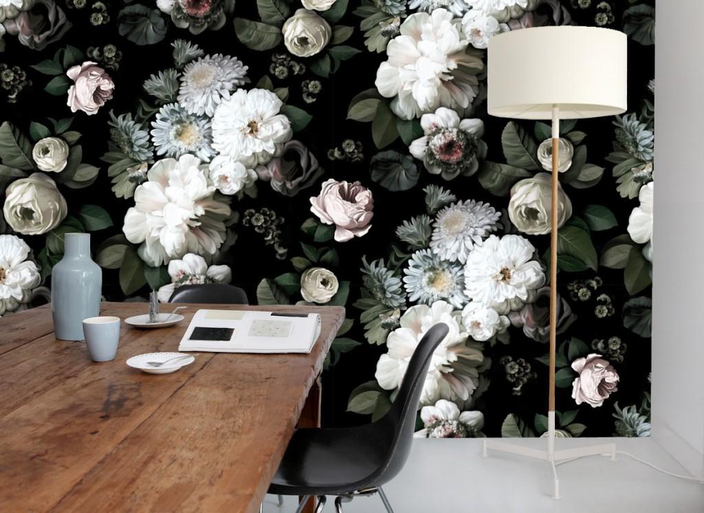 D co avec des fleurs xxl - Deco printempsidees avec fleurs et motif floral ...