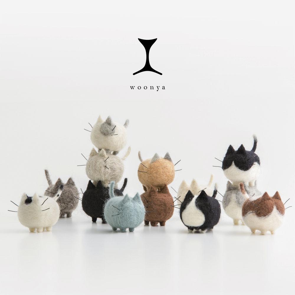Woonya // Wool-Cat-Doll-Series-41