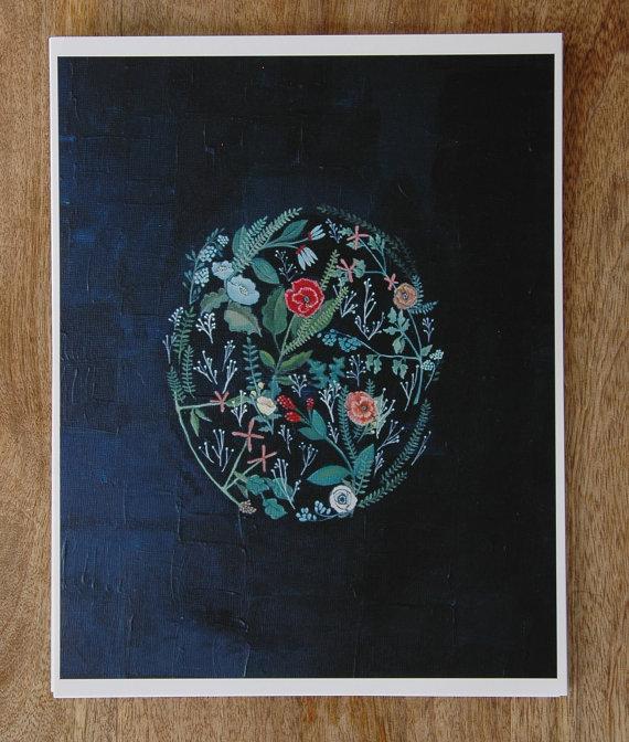 Flora print // Britthermann