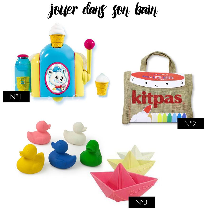 3 jouets pour le bain // bath toys