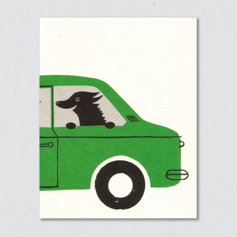 lisa-jones-studio_dog-in-car-card